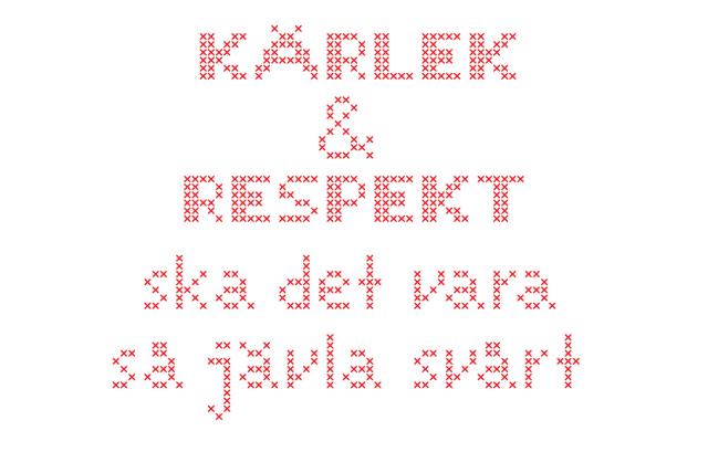 kärlek och respekt