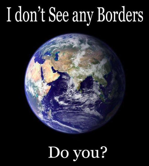 I dont see any borders do you