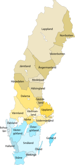 Landskapskarta